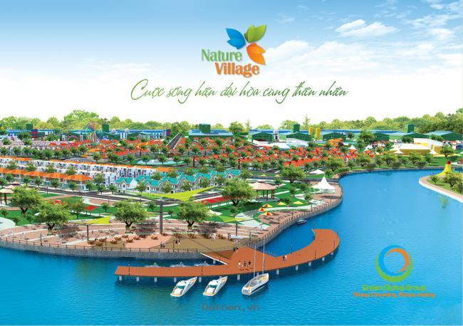 Đất nền dự án Nature Village, 2.4tr/m2, đã có sổ hồng, thanh toan linh hoạt