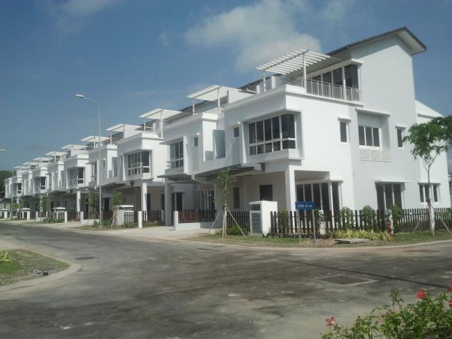 Bán nhà phố biệt thự song lập dự án ECO Xuân thị xã Thuận An