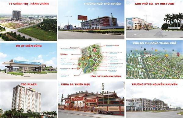 Dự án đất nền giá rẻ thành phố mới