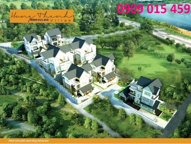 Đất nền biệt thự tại Đà Lạt Hưng Thịnh Villas view Hồ Xuân Hương, chỉ 1,26 tỷ/nền