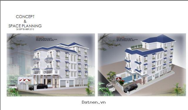 Bán nhà An Phú An Khánh, mt Nguyễn Quý Đức (30m) , dt 5x20, xd 1T, 1L, áp mái, giá 7.3 tỷ