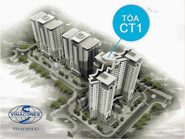 Mở bán đợt cuối khu căn hộ CT1 Trung Văn - Độc quyền bởi sàn BĐS VUD LAND @0973.415.290