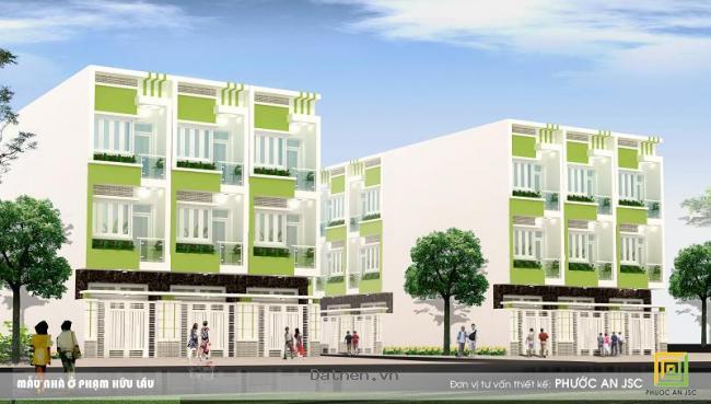 Nhà thiết kế hiện đại mặt tiền Phạm Hữu Lầu Phước Kiển Nhà Bè, 984tr
