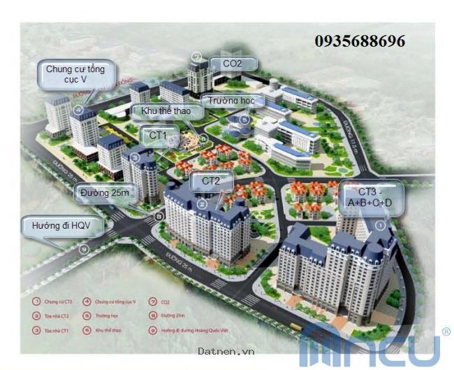 Mở bán căn hộ CT3 Nam Cường Hoàng Quốc Việt đợt cuối giá ưu đãi