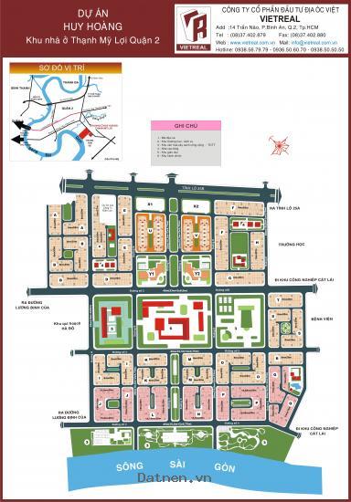 Bán đất Huy Hoàng, X1 - 15, Lô góc 2mặt tiền, Đối diện TTTM. Giá 50 tr/m2. LH 0932427979