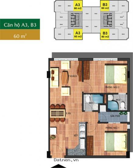 Bán căn hộ 60m2, view đẹp nhất dự án Saigon Town, ký hợp đồng trực tiếp chủ đầu tư. Liên hệ ngay: 0902515140