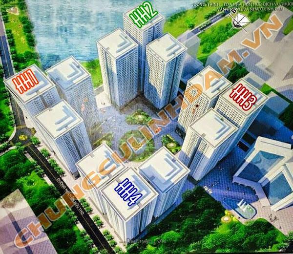 Bán gấp số 04 chung cư HH1B Linh Đàm chênh 70 triệu