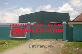 cho thuê: 4 nhà xưởng(500m2;600m2,800m2;1.000m2) trần đại nghĩa