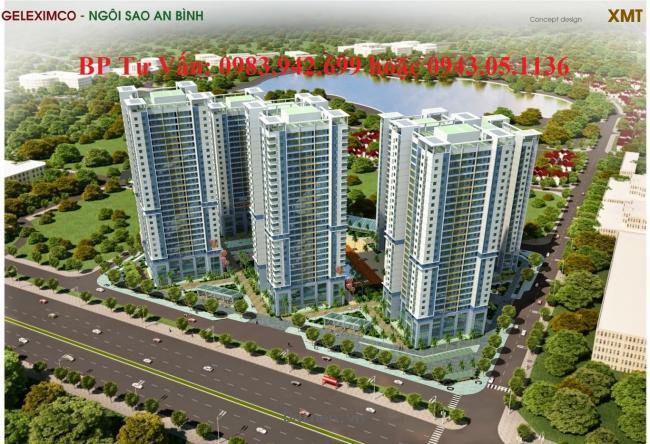Mở bán tòa A1, A2 chung cư Green Stars, khu đô thị Thành Phố Giao Lưu