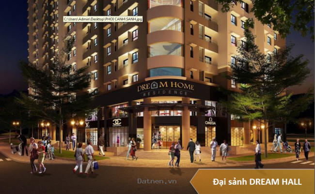 Căn hộ Dreamhome Residence giá chỉ 777 triệu trung tâm Quận Gò Vấp.