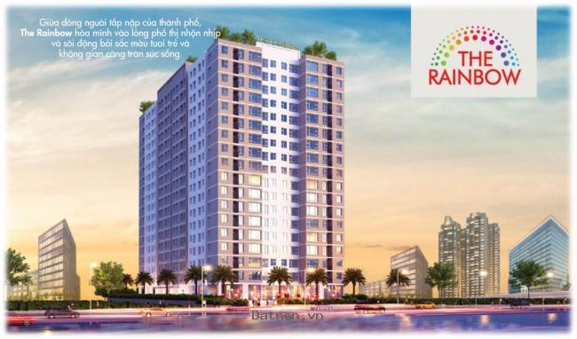 Căn hộ 8X Rainbow 2 ngay cạnh Đầm Sen 13,9 tr/m2, 64m2 giao nhà hoàn thiện 2pn, 2wc