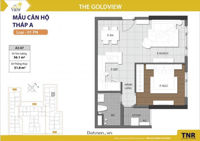 The Gold View là một dự án thích hợp để đầu tư ?