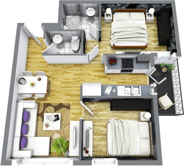 Sở hữu căn hộ cao cấp Nam Dinh Tower chỉ với 200tr