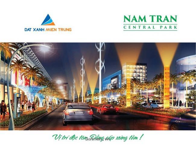 Mở bán tuyến phố kinh doanh đường 25m - Khu đô thị Nam Trân Central Park - 9,1 triệu/m2