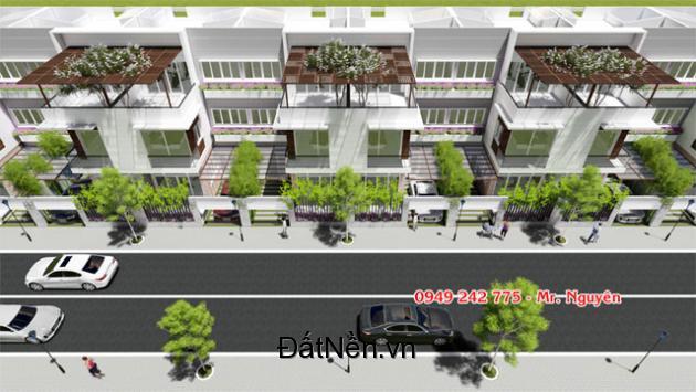 Dự án 65 căn nhà 2 lầu view sông Sài Gòn giá 3,8tỷ/căn/100m2, đối diện khu biệt thự quận Bình Thạnh.