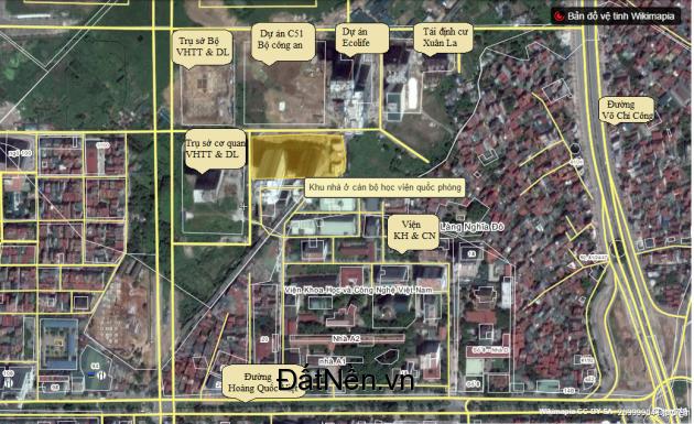 Chuyển nhượng sàn thương mại CC Học Viện Quốc Phòng, khu Hoàng Quốc Việt, Võ Chí Công