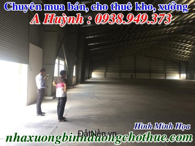 Cho thuê nhà kho, thị xã Dĩ An, Bình Dương, giá tốt, 2000m2,LH 0938949373