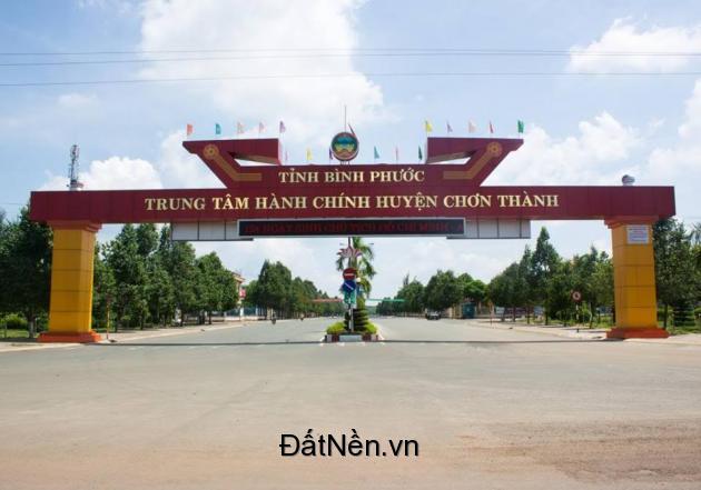 Đất nền tại chơn thành bình phước liền kề dự án VINCOM Bình Phước
