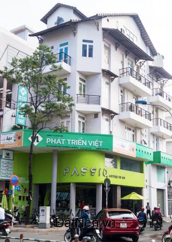 Cho thuê văn phòng tại mặt tiền 124 Khánh Hội, quận 4, TP. HCM