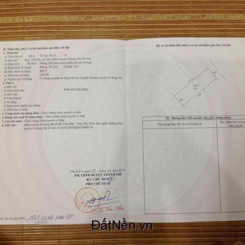 Bán nhà cấp 4 tại số 2 ngõ 2 Cô Đoài, p Cẩm Thượng, TP Hải Dương, 56m giá 530 triệu
