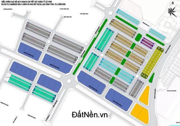 Bán đất nền dự án FLC Lux City Sầm Sơn Thanh Hóa