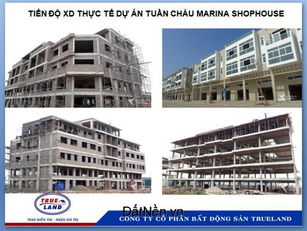 Shophouse Tuần Châu Quảng Ninh nhận nhà ngay ưu đãi khủng, số lượng có hạn
