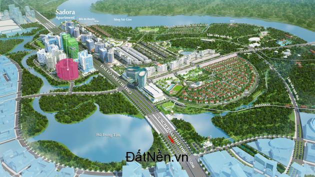 Cần bán căn hộ Sadora - khu đô thị SALA, 87m2-2PN, giá 3,8 tỷ, view nội khu. LH: 0909.038.909