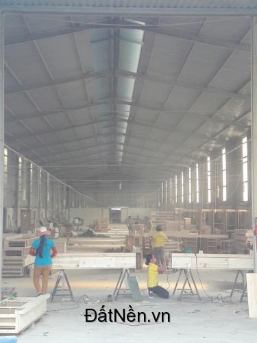 Cho thuê nhà xưởng 1.500 m2 tại huyện tân uyên, bình dương