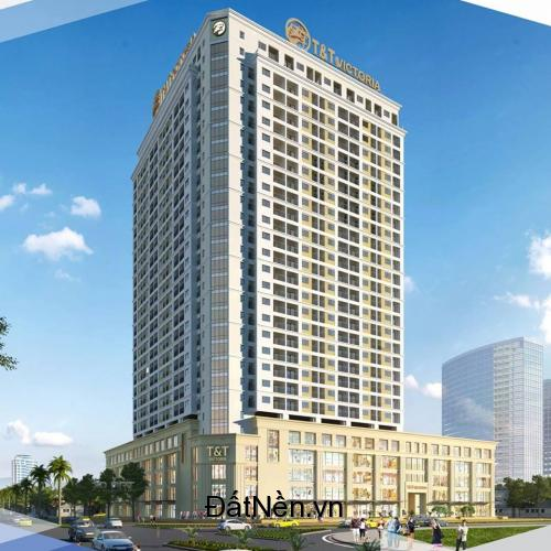 Bán căn hộ cao cấp T&T Victoria tại số 1 Quang Trung, TP Vinh dt từ 45-97m- LH: 0948 456 356