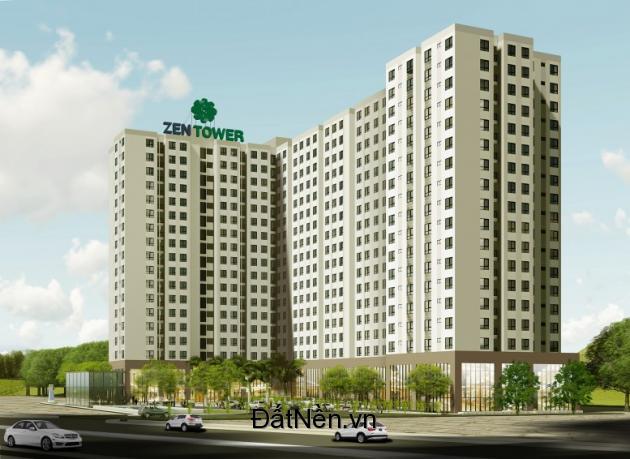 Căn hộ Zen Tower giá chỉ 15tr/m2 bao VAT liền kề Gò Vấp, LH: 0938 056 350 Đặng Dung