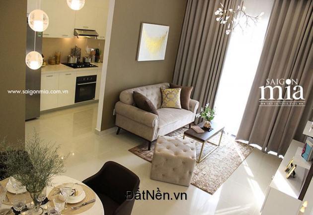 Chính chủ cần 2 căn hộ saigonmia view mặt tiền 9A Trung Sơn giá 2.4 tỷ