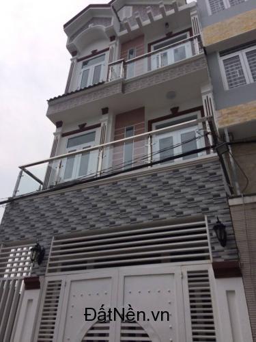 Cần bán nhà xây mới .3 tầng,hẻm xe hơi , Đường Lê Văn Lương ,Nhà Bè 3 tầng giá 980 Triệu