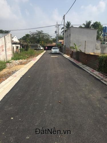 Bán nền đất  (5 x 21) HXH  đường Hàng Tre, sát KCN Cao Q9, 24 triệu/m2