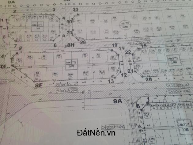Bán đất phân lô khu đô thị Cổ Dương - Tiên Dương - Đông Anh - Hà Nội