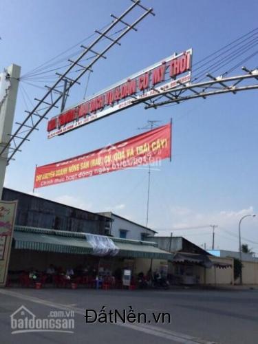 Đất nền chợ mới Cái Sao - Mỹ Thới, gần BV Hạnh Phúc, Coop Mart, Metro, Vincom, giá chỉ từ 879tr/nền