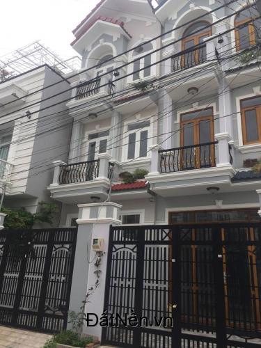 Bán nhà mới đẹp 1 trệt 1 lầu, sổ hồng riêng, Huỳnh Tấn Phát Nhà Bè