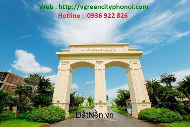 SIÊU RẺ dự án Vgreen city Liêu Xá, Phố nối Hưng yên chiết khấu 7% : 0936922826