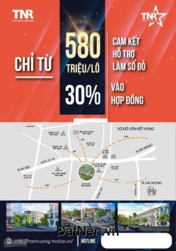 Nhận đăng ký mua đất phân lô khu đô thị TNR Stars Tân Trường