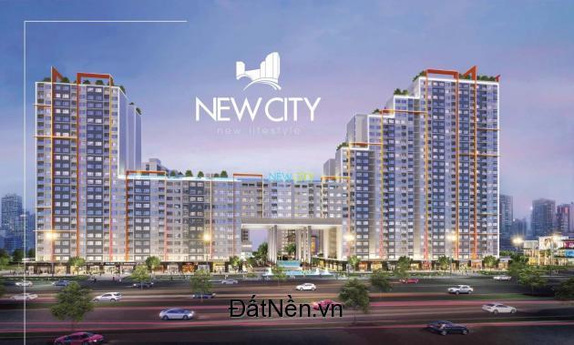 Chính thức mở bán căn hộ NEW CITY THỦ THIÊM Q2, liền kề trung tâm Q.1, đối diện khu đô thị SALA, giá bán chỉ 38tr/m2, nhận nhà ngay. LH: 0909.038.909