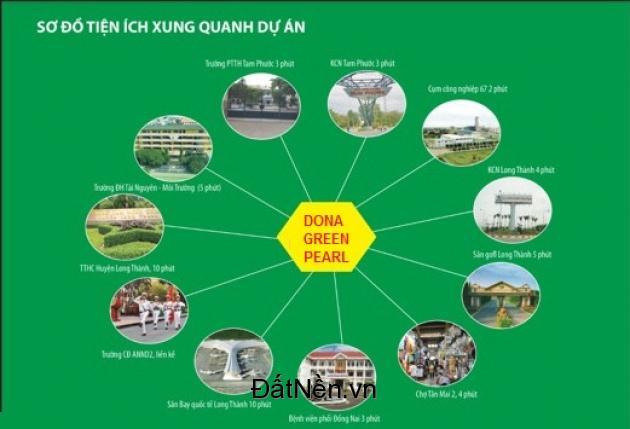 Kỉ niệm 20 năm thành lập tập đoàn Donaland - Mở bán dự án KDC Dona Green Pearl với giá cực ưu đãi!!!