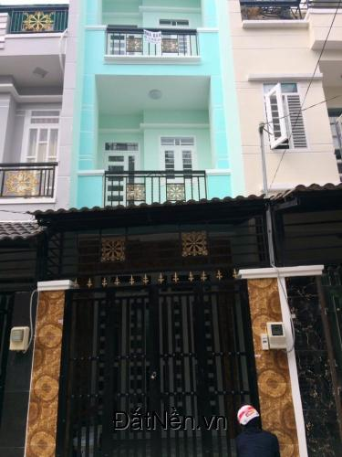 Nhà xây mới .3 tầng,hẻm xe hơi , Đường Lê Văn Lương ,Nhà Bè giá chỉ 950 triệu