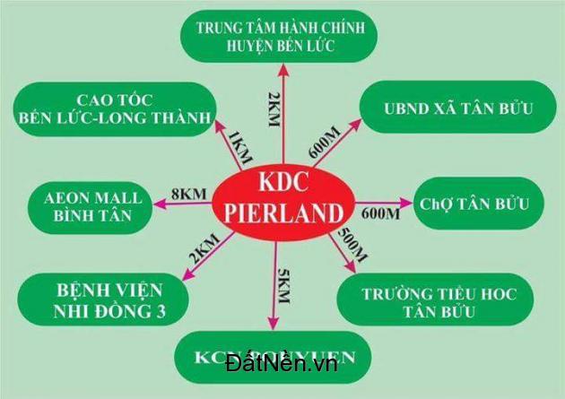 Cơ hội vàng dành cho các nhà đầu tư dịp cuối năm - đất nền dự án KDC Pier Land 100% đất thổ cư
