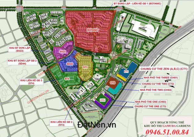 Mở bán giai đoạn 4 biệt thự liền kề Gamuda City 90m - 112m - 157m2, giá bán từ 6 tỷ