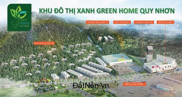 Đất nền vị trí vàng GreenHome Thành Phố Quy Nhơn – 27 tr/m2 – Ưu đãi hấp dẫn !!!