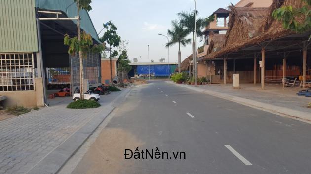 Đất bán mặt tiền chợ Long Phú,QL 51, 100m2, thổ cư 100%