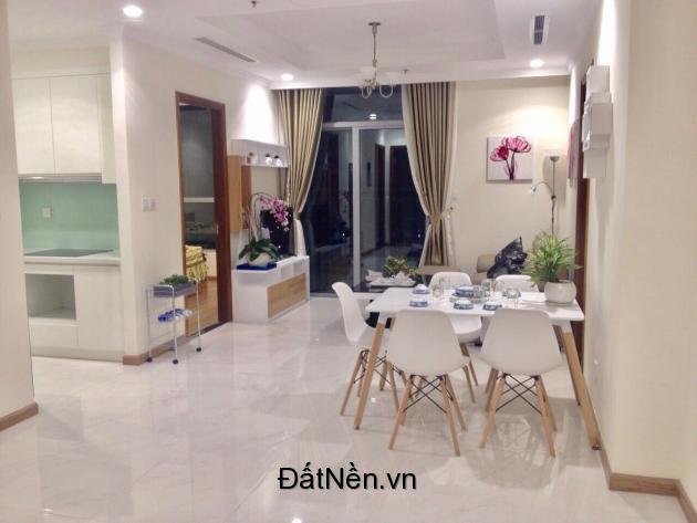 Cho thuê căn hộ Vinhomes 3PN giá 19tr/tháng.
