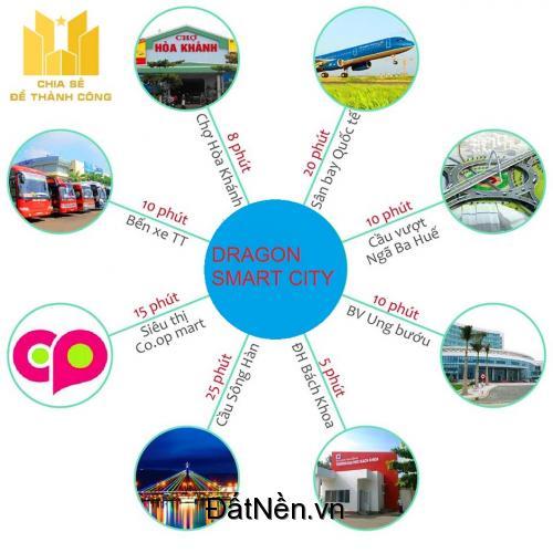 Nhận đặt chỗ ưu tiên dự án KĐT thông minh Dragon Smart City – Trung tâm quận Liên Chiểu