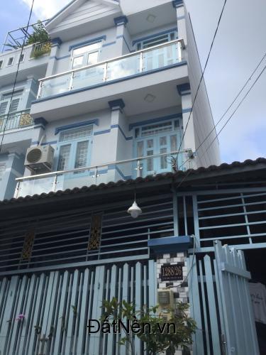 Nhà  sổ hồng riêng vay ngân hàng hẻm 1288 Lê Văn Lương đường nhựa 6m