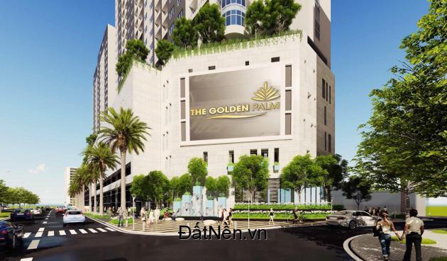 Bán Shophouse dự án The Golden Palm Lê Văn Lương giá 90tr