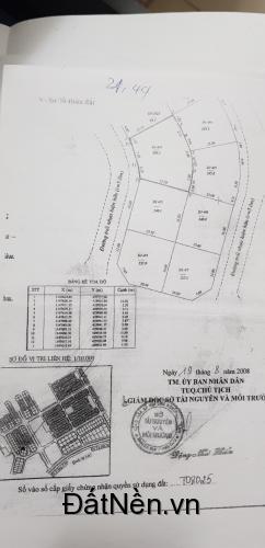 Đất biệt thự Chí Linh -308m2. 12,8 x 25,3m Nở hậu. Hướng Tây Nam